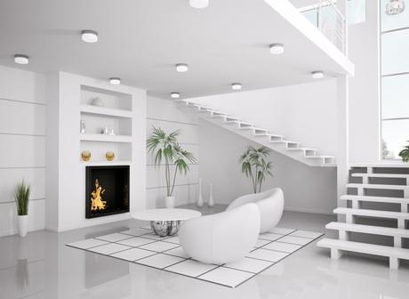 modern white design