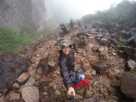 "Trekking ""Up"" Mount Roraima in Venezuela"