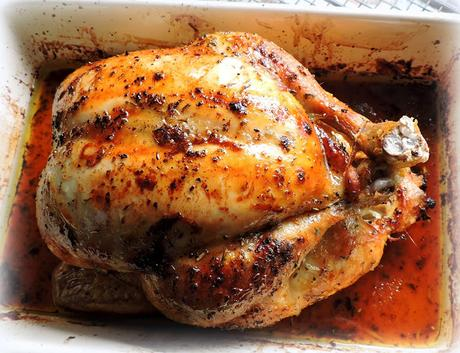 A Simple Roast Chicken