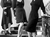 1940s Fashion Dipping Hemlines