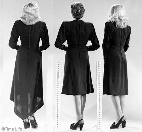 1940s-Fashion---Dipping-Hemlines-1946