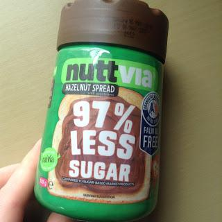 NuttVia Hazelnut Chocolate Spread sugar free