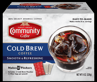 Beat the Heat with Community Cold Brew Coffee You Can Make at Home!