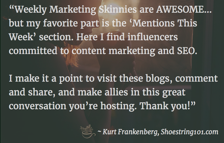 Weekly Marketing News: what readers think