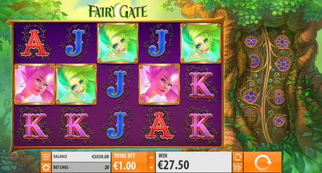 Quickspin Fairy Gate Slot
