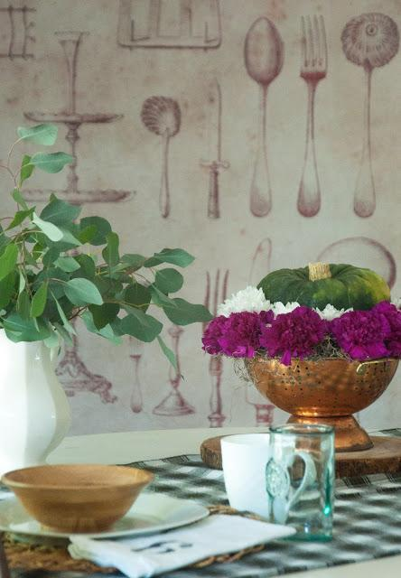 3 inexpensive style tips for a collected Fall table