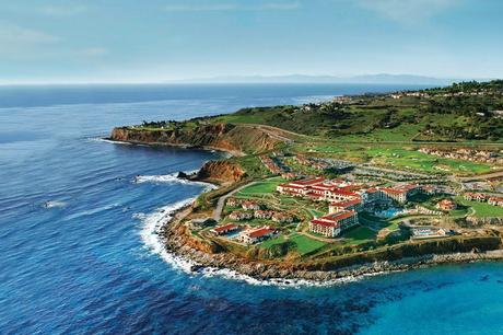 Terranea beach resort in southern california