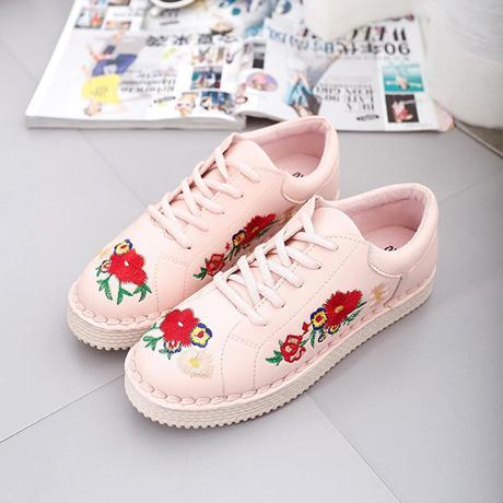 Embroidery Sneakers