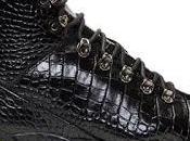 Slick Hiker: Alyx Black Croc Hiking Boots