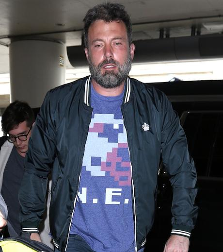Ben Affleck departs from LAX Airport