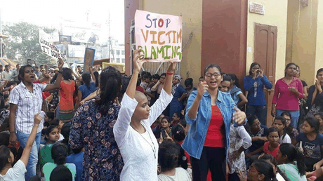 Women Not Safe On BHU Campus, Says Protesting Students