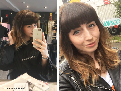 Hello Freckles Balayage Boilerhouse Ouseburn Newcastle Hairstyle hairdresser salon review