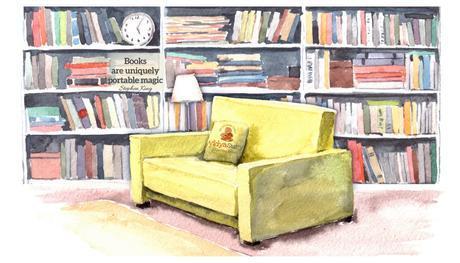 Of books, bookshelves and nostalgic memories