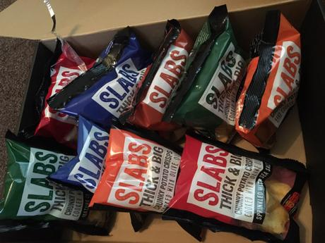 Slabs – the biggest crisps I've ever seen!