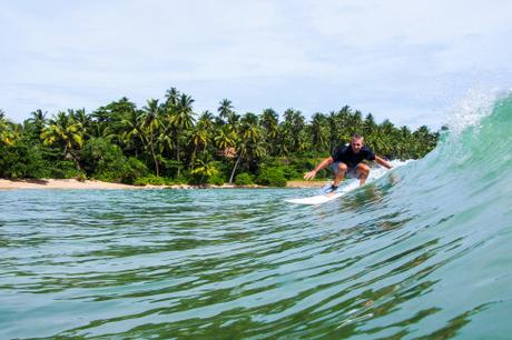 Have you ever been surfing in Sri Lanka?