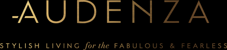 Our new logo! Audenza - Stylish Living for the Fabulous and Fearless