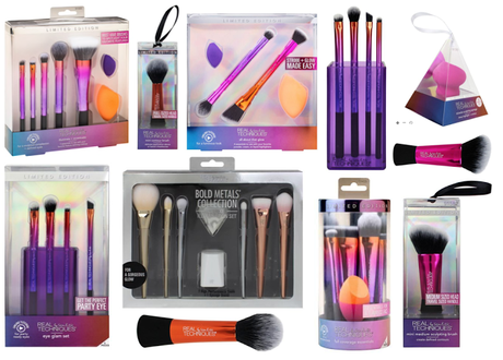 Real Techniques Christmas Gift Sets 2017