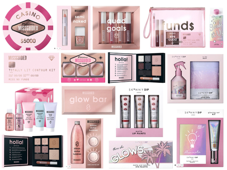 Skinny-dip & Missguided Christmas Gift Sets 2017
