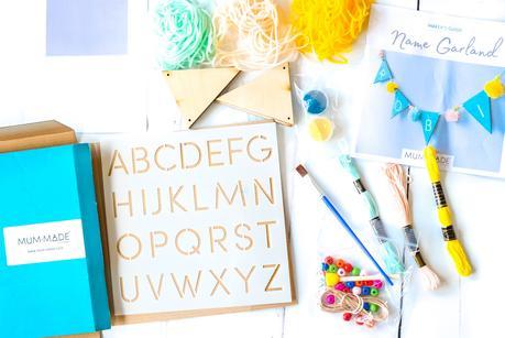 MUM-MADE review, MUM-MADE craft, DIY nursery decorations, DIY baby keepsakes