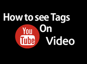 Tags Youtube Video