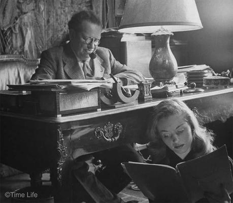 Léopold Marchand with Barbara Laage. Photo by Nina Leen. ©Time Life