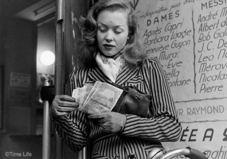 A-Post-War-Paris-Girl-1946. Barbara Laage. Photo by Nina Leen. ©Time Life