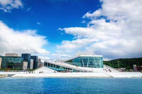 20. The sleek Opera House in Oslo is made up of a maze of 1,100 rooms.