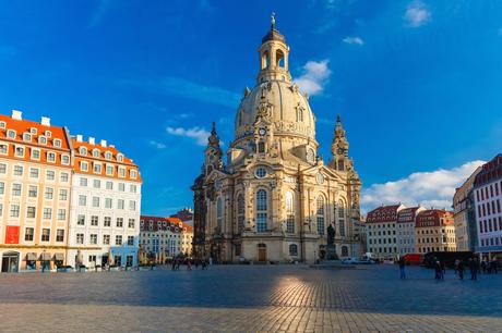 22. The Frauenkirche in Dresden was destroyed during World War Two, but its beautiful restoration was completed in 2004.