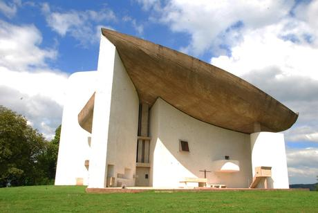 57. Le Corbusier's Chapelle La Notre Dame du Haut, a tiny chapel near the French town of Ronchamp, is a bold 20th-century masterpiece.
