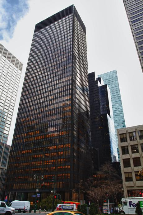 92. The Seagram Building in the heart of New York City is both conventional and unique, epitomising the virtues of modernism.
