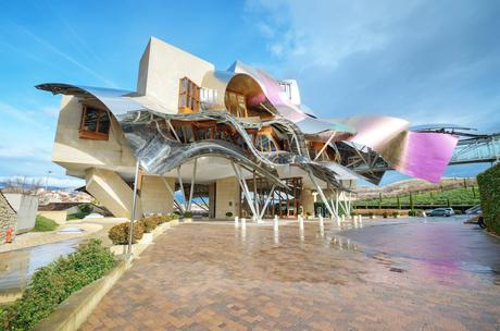 83. Frank Gehry transformed the Marques de Riscal winery in Spain's Basque Country into a visual spectacle.