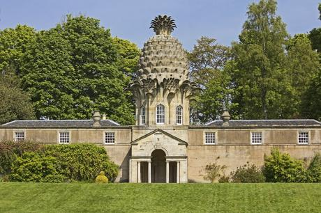 96. The playful Dunmore Pineapple building in Scotland has been entertaining visitors since its creation in 1761.