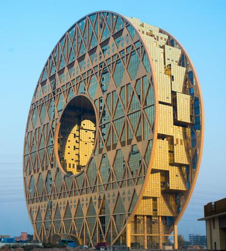 45. The doughnut-shaped Guangzhou Circle in China hosts the world's biggest trading centre for raw plastic materials.