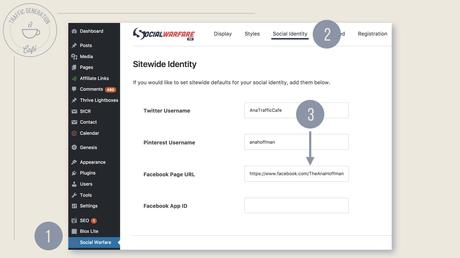 How to set up FB Author Tags with Social Warfare, step 2