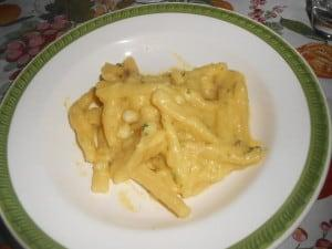 La mia ricetta di pasta con crema di cavolfiore e zafferano. My recipe pasta with cauliflower and saffron