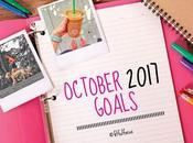 October 2017 Goals