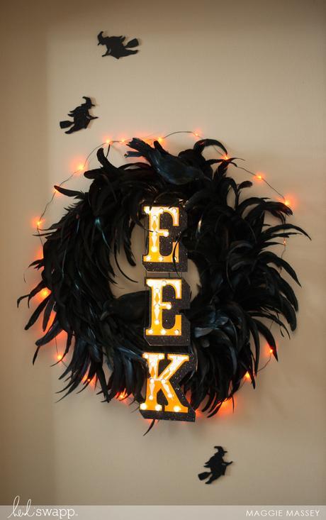 Halloween In Lights EEK Banner | Heidi Swapp