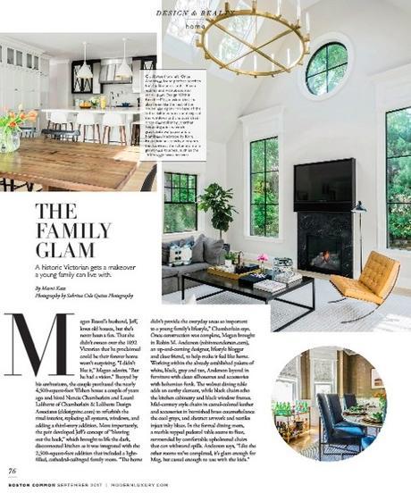 Robin M. Anderson Project In Boston Common Magazine