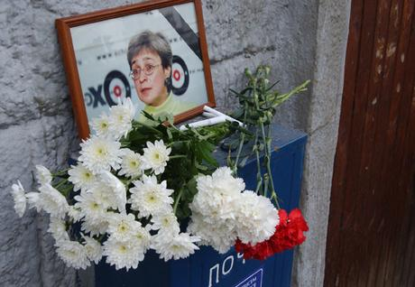 Anna Politkovskaya Murder Anniversary