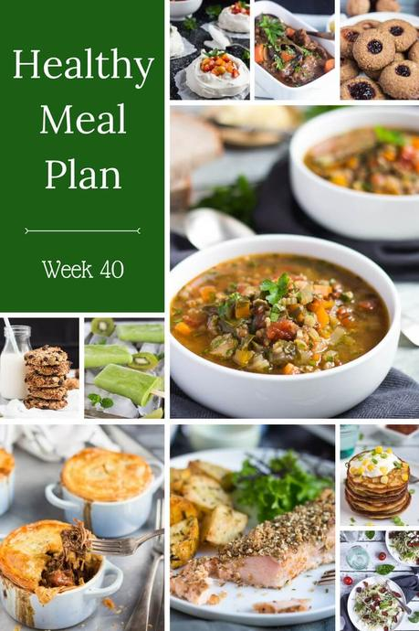 Healthy Weekly Meal Plan – Week 40