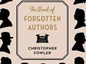 Book Forgotten Authors Christopher Fowler