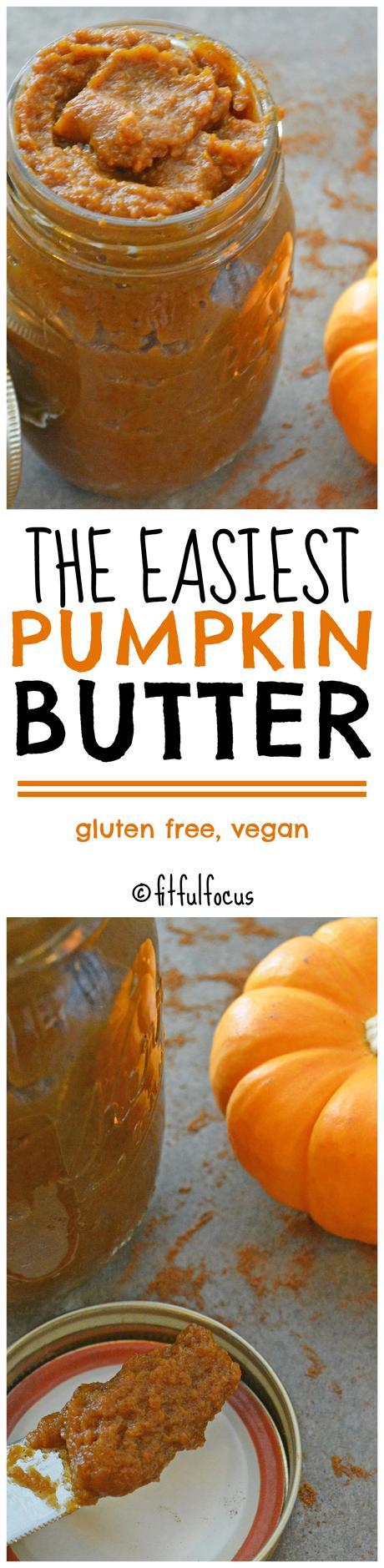 The Easiest Pumpkin Butter (gluten free, vegan)