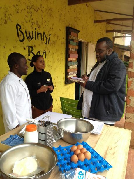 Bwindi Bar, Buhoma, rolex