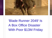 Office: Blade Runner: 2049 One-Quadrant Movie With Four-Quadrant Budget