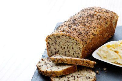 Soft keto loaf of bread