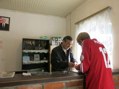 jonny blair seki azerbaijan post office