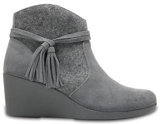 Shoe of the Day | Crocs Leigh Suede Mix Booties