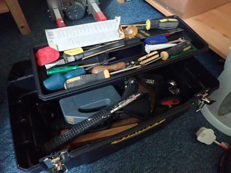 Tool Storage: Backpack?