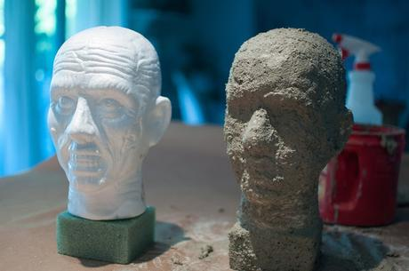 How a monster face became a classic garden sculpture: my latest (crazy) DIY project