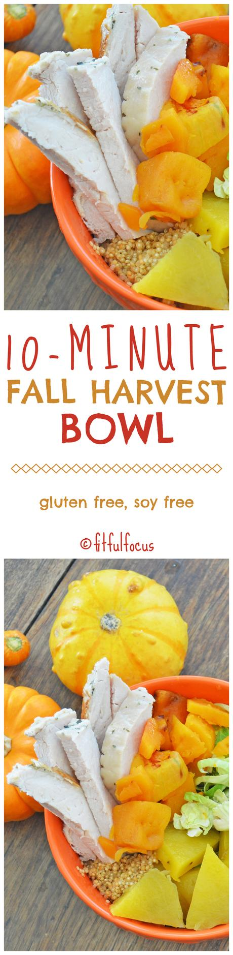 10-Minute Fall Harvest Bowl (gluten free, soy free)